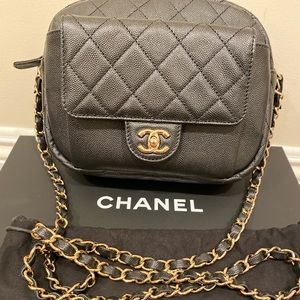 Chanel CC Day Camera Case Bag